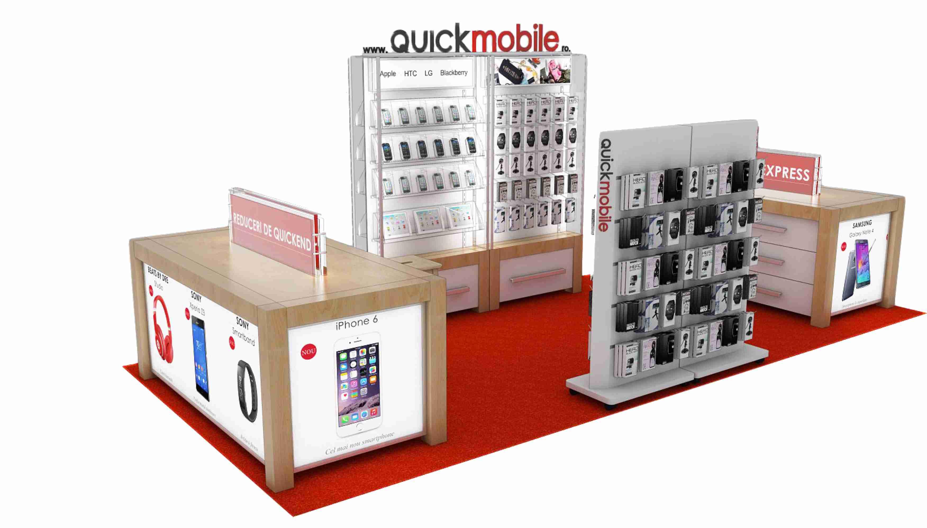 QuickMobile continuă extinderea rețelei de magazine tech retail şi caută francizat în Piteşti