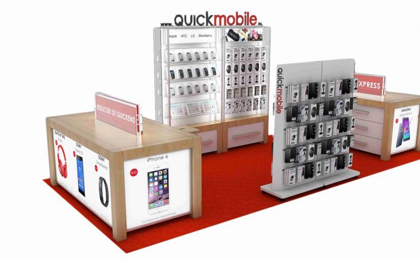 QuickMobile recrutează potențiali francizați pentru un nou magazin, în Oradea