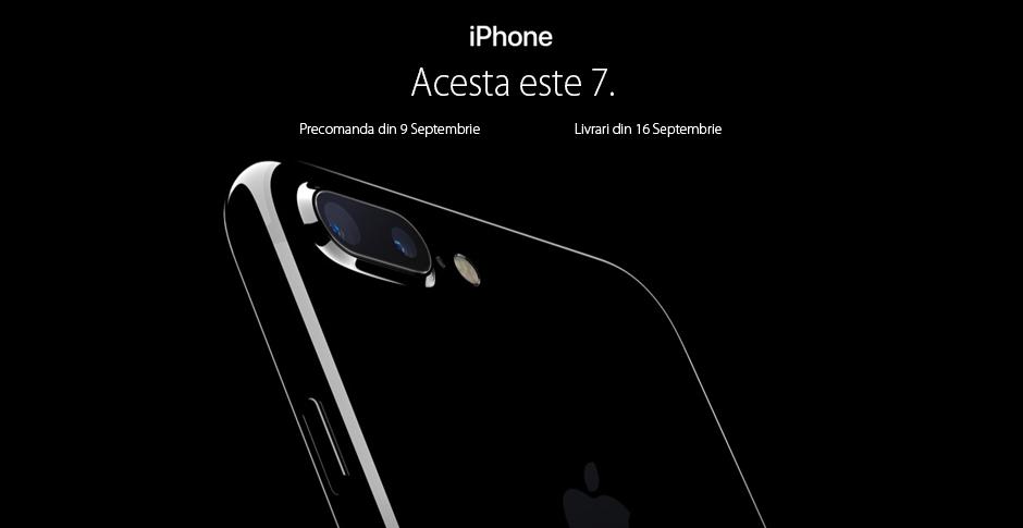 Vânzări de 1 mil. euro în trei zile pentru iPhone7 şi 7 Plus pe QuickMobile.ro