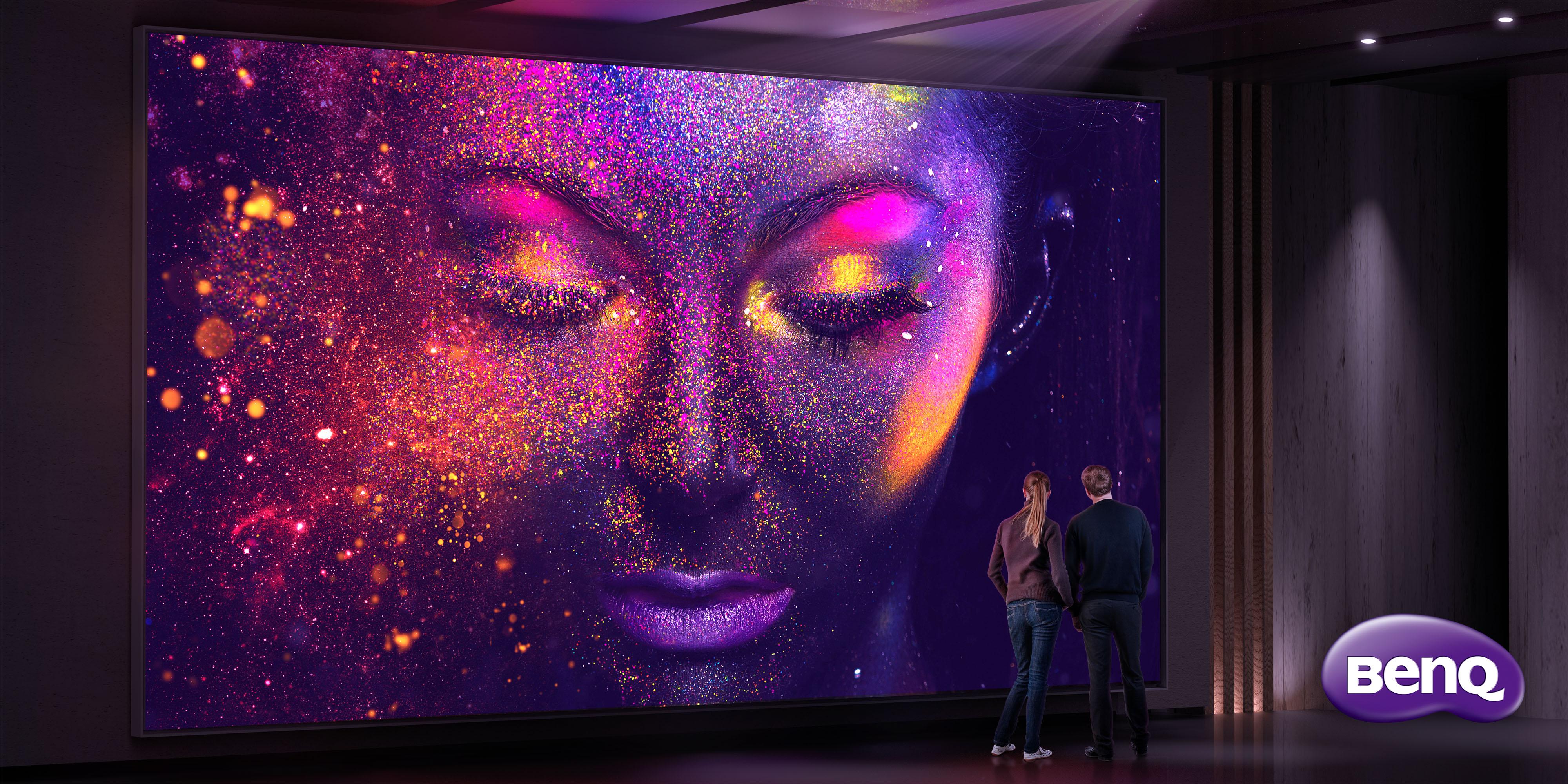 BenQ aduce pasionaţilor de filme primul proiector Home Cinema DLP 4K UHD DCI-P3 LED