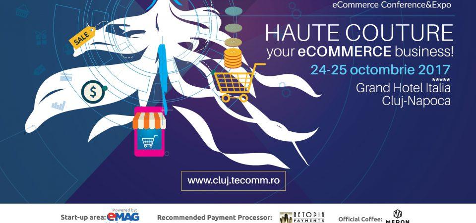 400 de profesionisti in eCommerce reuniti la Evenimentul Premium de Comert Electronic TeCOMM