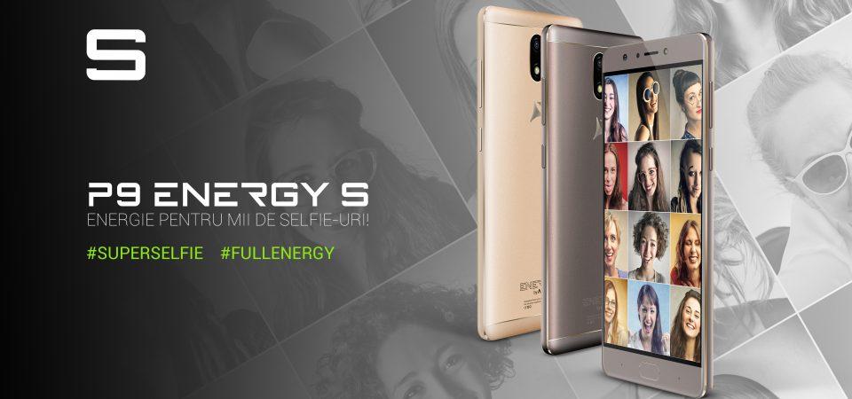 Allview lansează P9 Energy S, un telefon pentru #superselfie și cu #fullenergy