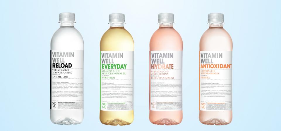 Refresh your life alături de Vitamin Well și Zlatan Ibrahimovic