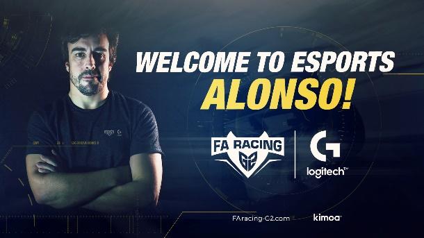 Fernando Alonso, dublu campion mondial la F1, își unește forțele cu Logitech G și G2 Esports pentru a lansa o echipă de curse