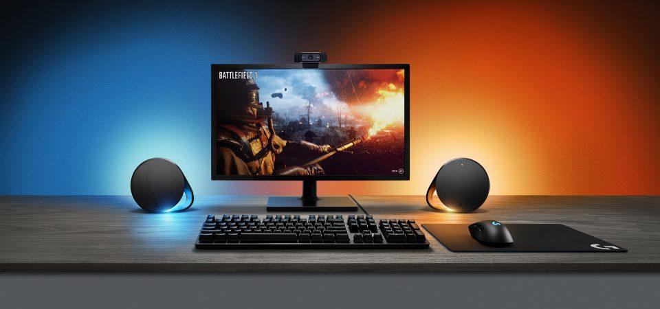 Logitech G lansează două produse noi de gaming, sistemul audio G560 și tastatura mecanică G513, ce utilizează tehnologia LIGHTSYNC