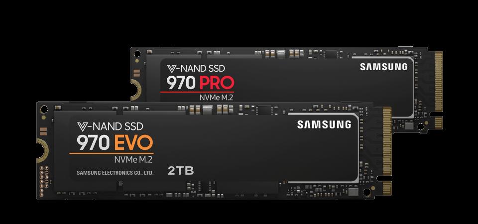 Samsung Electronics setează un nou standard de performanță cu SSD-urile NVMe 970 PRO și EVO