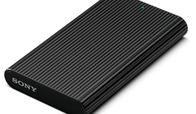 Sony anunță o nouă serie de SSD-uri compacte pentru stocare rapidă