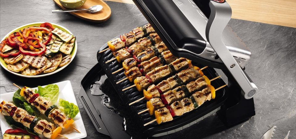 Tefal OptiGrill®+, placerea unui gratar preparat perfect