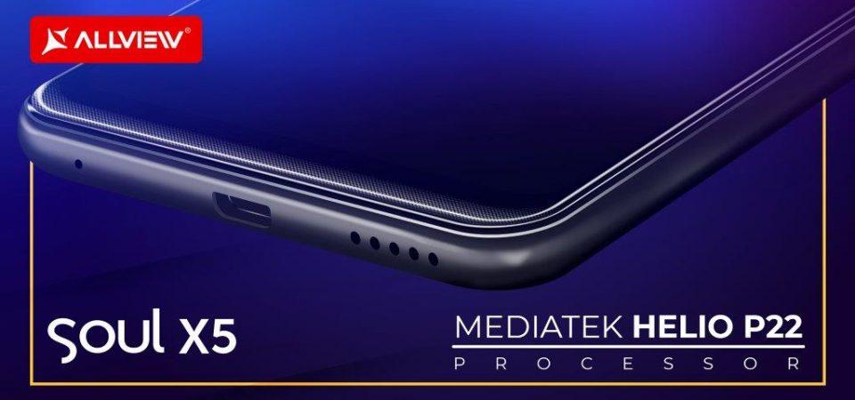 Allview pregăteşte un nou smartphone, accesibil tuturor, care va beneficia de avantajele inteligenței artificiale şi va prelua funcţiile importante din Soul X5 Pro.