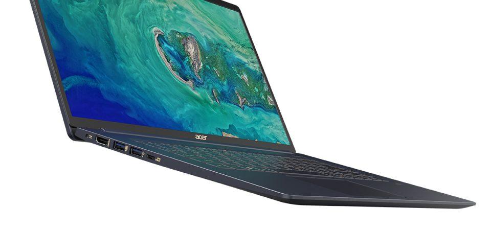 """Acer Swift 5 este cel mai usor notebook de 15"""" din lume"""