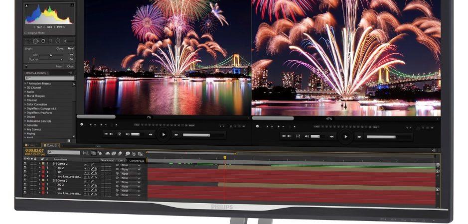 MMD lansează un nou monitor creat pentru profesioniști: Philips 328P6VUBREB