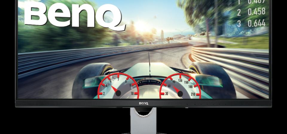 """BenQ anunță disponibilitatea modelului EX3501R,  un monitor pentru divertisment dotat cu ecran curbat de 35"""""""