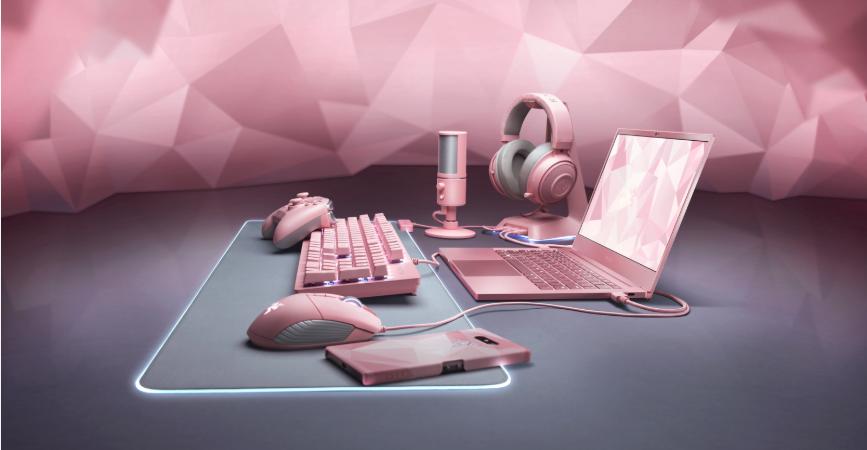Razer prezintă noua gamă Quartz Pink Edition pentru a sărbători Valentine's Day