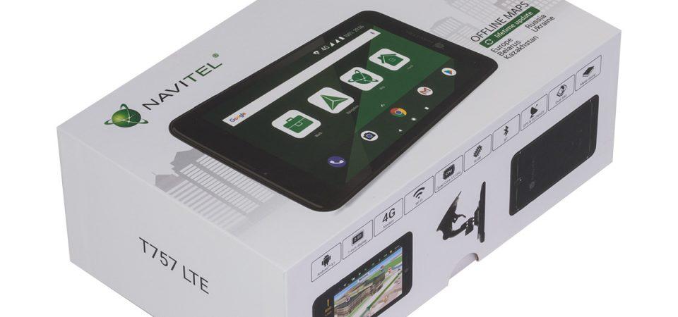 NAVITEL® lansează tableta NAVITEL Т757 LTE