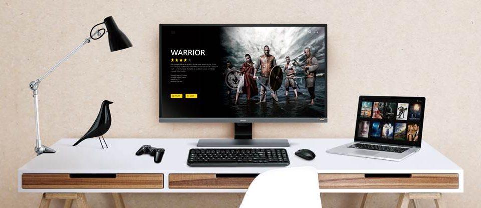 BenQ prezintă EW3270U, un nou monitor 4K pentru divertisment